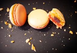 Macarons Clémentine de Corse, Chocolat, Baileys